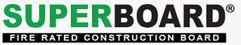 Superboard fire rated construction board